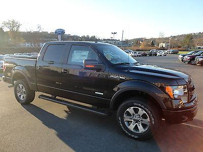 Ford : F-150 Supercrew 4x4 FX4 3.5L EcoBoost 4wd New 2014 F150 Supercrew FX4 Off Road EcoBoost 4x4 Tuxedo Black Crew Cab 3.5L 4WD