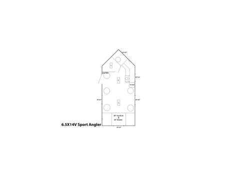 2014 Ice Castle Fish Houses 6.5 X 14V Sport Angler