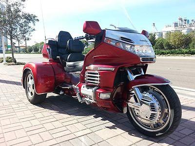 Honda : Gold Wing 1998 honda goldwing aspencade gl 1500 trike california sidecar w reverse