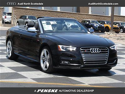 Audi : S5 2dr Cabriolet Premium Plus 2 dr cabriolet premium plus new convertible automatic gasoline 3.0 l tfsi v 6 dohc