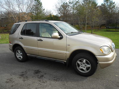 Mercedes-Benz : M-Class ML-Class, Leather Interior 2001 mercedes benz ml 320 awd 3.2 l v 6 every option only 135 k miles must see