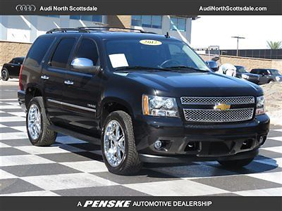 Chevrolet : Tahoe One Owner, LTZ, 4x4, Leather 2012 tahoe 52 k miles leather sun roof heated seats tow package navi financing
