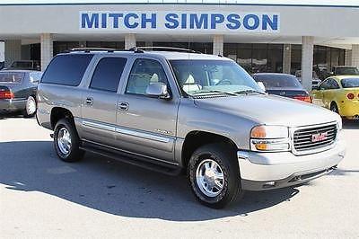 GMC : Yukon YUKON XL SLT   LOADED  1-OWNER GEORGIA SUV 2002 gmc yukon xl slt loaded 1 owner georgia suv