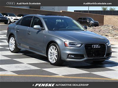 Audi : A4 One Owner, Quattro, Navigatin, Low Mileage 2014 audi a 4 awd 400 miles leather sun roof heated seats low financing