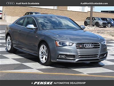 Audi : S5 2dr Coupe Automatic Premium Plus 2 dr coupe automatic premium plus new automatic gasoline 3.0 l v 6 cyl monsoon gray