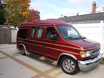 2000 ford conversion van cars for sale. Black Bedroom Furniture Sets. Home Design Ideas