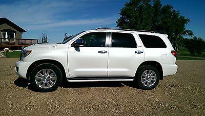 Toyota : Sequoia Platinum Sport Utility 4-Door 2013 toyota sequoia 4 x 4 platinum 18 k mint