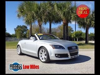 Audi : TT Roadster 2008 audi tt roadster 2.0 t automatic like new only 33 k miles drop your top
