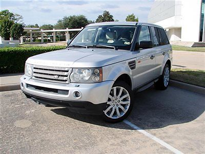 Land Rover : Range Rover Sport 4dr Wagon SC SPORT,TOUCH SCREEN NAVIGATION,FULLY LOADED,HEATED SEATS,SUNROOF,RUNS GR8!!