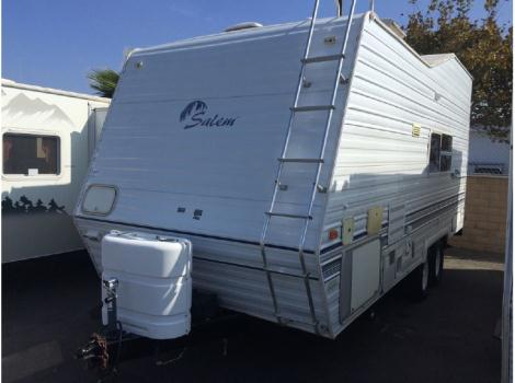 2001 Forest River Sierra Sport Toy Hauler T21