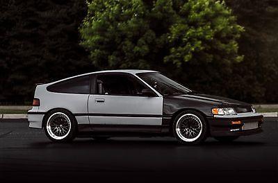 Honda : CRX Si 1989 honda crx si turbo b 18 c type r corvette killer