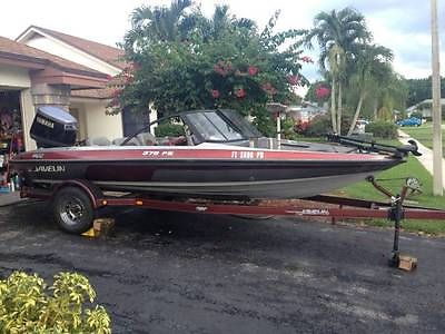 1996 18' Javelin 379 F/S Fish and Ski- Boat and trailer -Excellent condition!