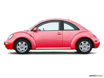 Volkswagen : Beetle-New 2dr Coupe GLS Turbo Manual 2 dr coupe gls turbo manual low miles manual gasoline 1.8 l 4 cyl red