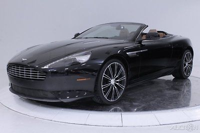 Aston Martin : DB9 Volante Convertible Bang Olufsen Beosound Piano Black Embroidered Sport 2 + 2 Alarm Upgrade 20 Wheel