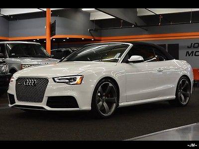 Audi : Other quattro 2014 audi rs 5 quattro convertible super rare bi turbo v 8 msrp 88 945.00 exotic