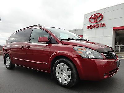 Nissan : Quest 3.5S Special Edition Rear tv dvd power door hatch 2006 quest 3.5 s special edition rear dvd entertainment 41 k miles 1 owner video
