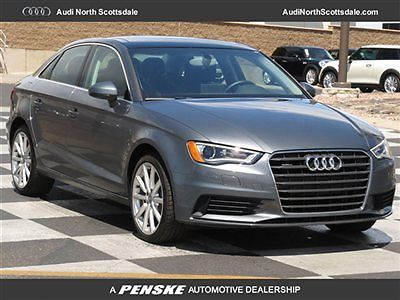 Audi : A3 One Owner- Quattro- Low Mileage -Warranty 2015 audi a 3 3 k miles awd leather pano roof financing factory warranty