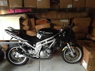 Other Makes : Hyosung Hyosung 650 Motorcycle Black