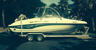2000 Rinker Captiva 232, 300HP, only 800hrs, $23,000 (OBO) Corsa Exhaust