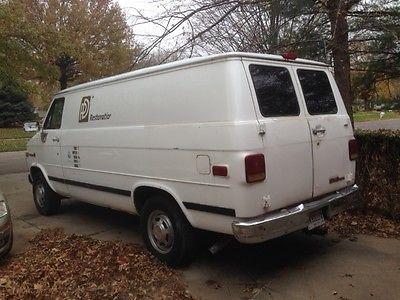 GMC : Vandura standard 1994 gmc butler truck mount carpet cleaning good running extra capacity