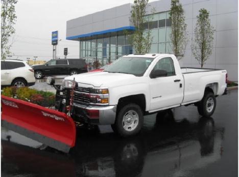 2015 Chevrolet Silverado 2500HD 4WD Snow Plow