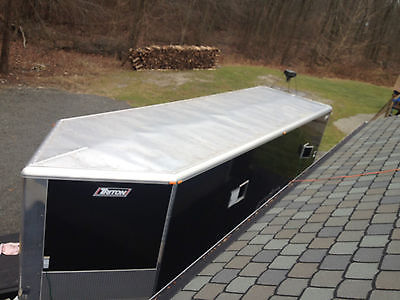Triton HDL custom 6 position snowmobile trailer full Aluminum 37'X8'5