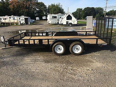 NEW 6.5 x 16 Landscape trailer REAR GATE + ATV front RAMPS