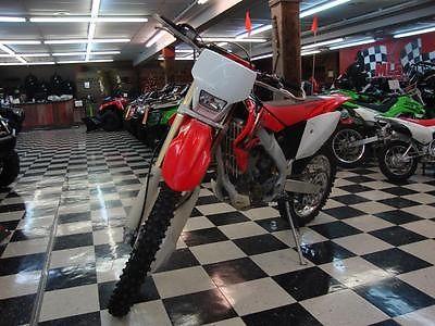 Honda : CRF 2004 honda crf 250 x 5 speed headlight taillight hand guards electric start