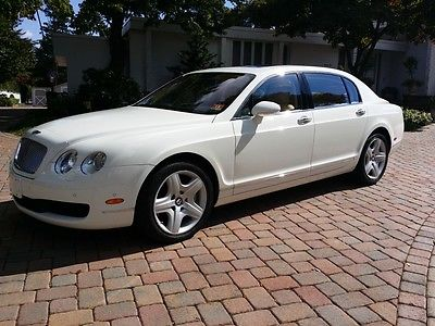 Bentley : Continental GT Flying Spur Sedan 4-Door 06 flying spur stunning like brand new one owner car must see 190 pics