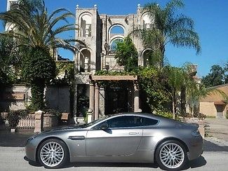 Aston Martin : Vantage SILVER BULLET,6-SPD,CARBON FIBER,NAVIGATION,1OWNER WE FINANCE/LEASE,TAKE TRADES,EXTENDED WARRANTIES AVAILABLE,CALL 713-789-0000!!!!