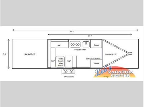 2014 Aliner Somerset Camping Trailers E2