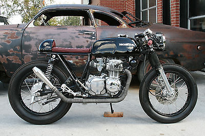 Honda : CB 1973 honda cb 350 f cafe racer custom built by speed deluxe