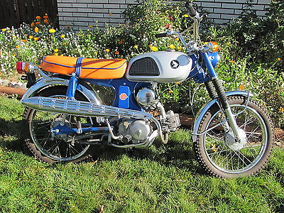 Honda : CL 1969 honda cl 90 scrambler no rust beautifully restored low miles