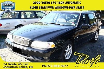 Volvo : S70 2000 volvo s 70 180 k automatic cloth seats pwr windows pwr seats