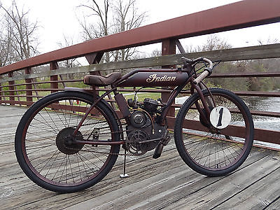 Custom Built Motorcycles : Other Indian Boardtrack Racer Replica