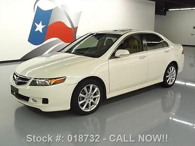 Acura : TSX SUNROOF 2006 acura tsx auto sunroof heated seats leather xenons texas direct auto
