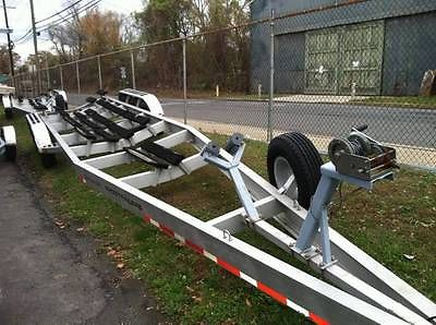 2005 Myco Aluminum 3 Axle Bunk Trailer - Originally built for a 38' Fountain CC