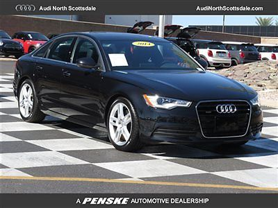 Audi : A6 One Owner, Quattro, 6k miles, 2014 audi a 6 6 k miles quattro leather heated seats navigation financing