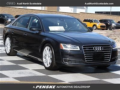 Audi : A8 435 Horsepower- Pano Roof-Quattro 2015 a 8 l v 8 awd navigation heated seats low financing luxury package