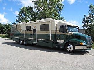 2000 Volvo Custom Built Toterhome 46ft Diesel Motorhome RV Coach, Low Miles!