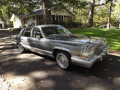 Cadillac : Brougham d'Elegance 5.7L 4L60 1991 cadillac brougham d elegance 5.7 l academy gray 4 l 60 tow package