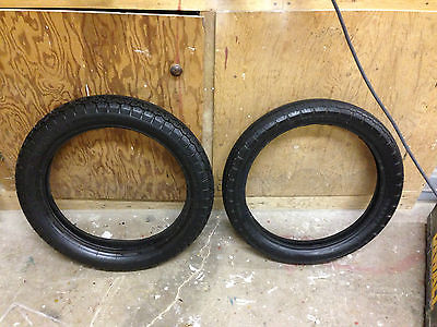Kawasaki : Other Vintage Yokohama Speed Master Front + Rear Tires For 18inch Rims