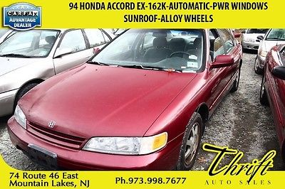 Honda : Accord EX 94 honda accord ex 162 k automatic pwr windows sunroof alloy wheels