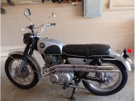 1966 Honda Scrambler