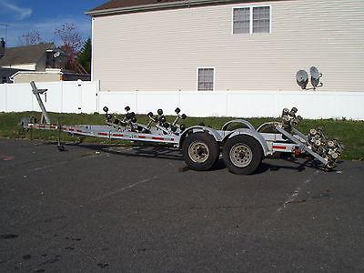 2001 Load Rite Trailer Tandem Axle Roller Boat Trailer Model 28T9700