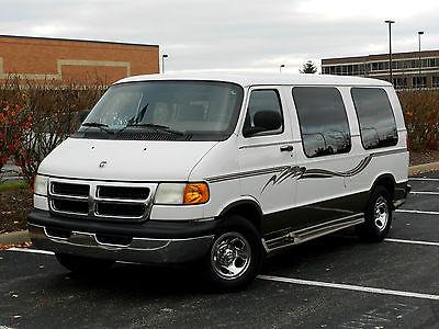 Dodge : Ram Van SE Standard Passenger Van 3-Door 2001 dodge ram van custom conversion clean tv cd