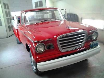 Studebaker : Champ Half-Ton Long Wide Box 2-DOOR PICKUP 1964 studebaker champ half ton long wheel base v 8 3 speed over drive