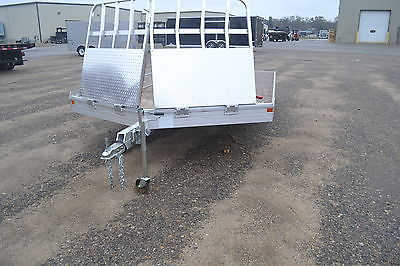Everlite Snowmobile Trailer by: LOOK Trailers Utility Aluminum / ATV Trailer
