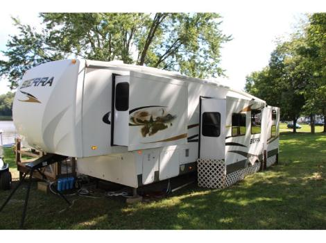 2010 Forest River Sierra 355QBQ