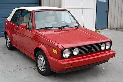 Volkswagen : Cabrio MK1 Automatic 1983 vw rabbit cabriolet automatic low miles golf convertible mk 1 83
